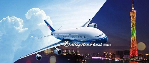 Di chuyển tới Bắc Kinh bằng máy bay