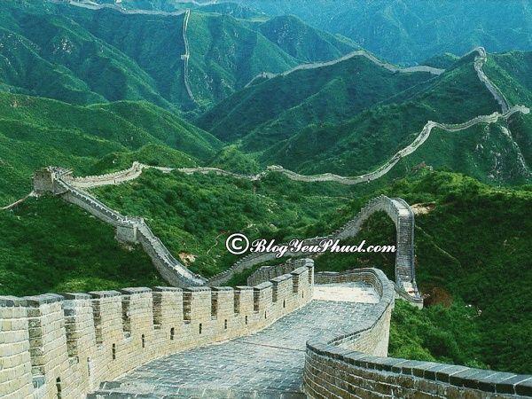 Điểm tham quan thú vị ở Bắc Kinh - Vạn Lý Trường Thành
