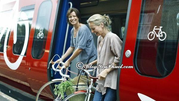 Đi lại ở Đan Mạch bằng phương tiện gi?- Di chuyển bằng tàu điện, kinh nghiệm du lịch Đan Mạch thuận lợi, thú vị
