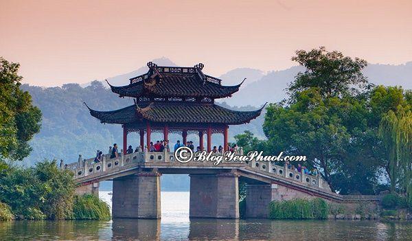 Nên đi du lịch Hàng Châu vào thời điểm nào