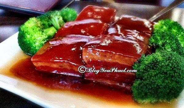 Món ăn ngon đặc sản Hàng Châu