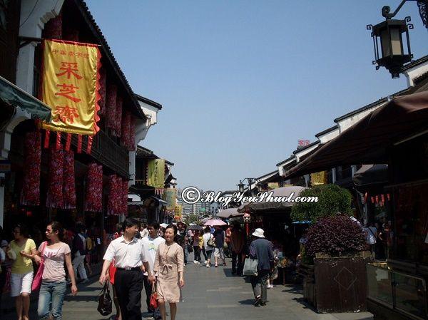 Du lịch Hàng Châu nên mua sắm ở đâu?
