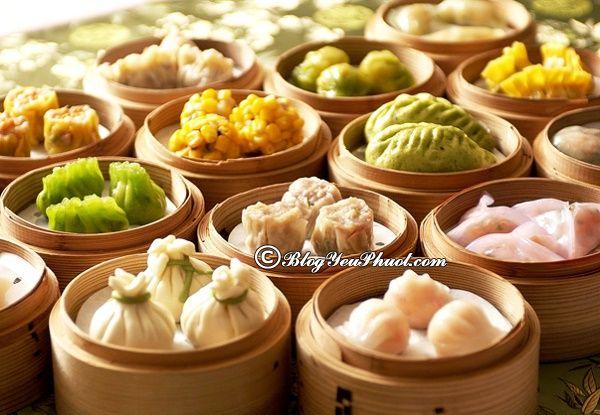 Khám phá ẩm thực Hồng Kông với những món dimsum