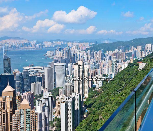 Điểm tham quan nổi tiếng ở Hồng Kông - The Peak