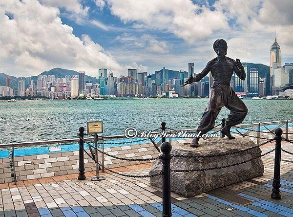 Đi du lịch Hồng Kông khám phá Đại lộ Ngôi Sao
