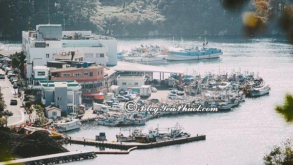 Kinh nghiệm du lịch đảo Jeju tự túc - Phà là phương tiện phổ biến ở Jeju