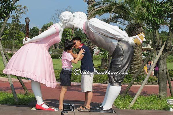 Nên đi đâu khi du lịch đảo Jeju? Công viên tình yêu, địa điểm du lịch nổi tiếng trên đảo Jeju