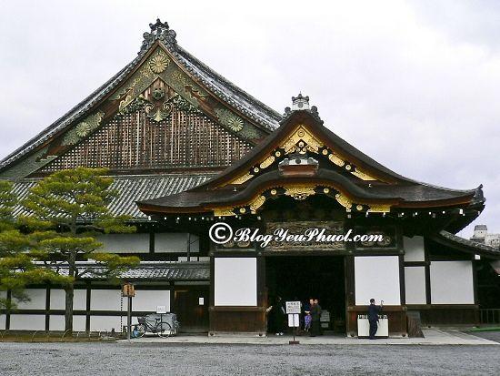 Du lịch Kyoto khám phá Lâu đài Nijo cổ kính: Tour du lịch Kyoto giá rẻ