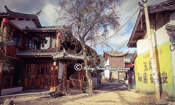 Ngôi làng cổ ở Lệ Giang - Bạch Sa cổ trấn