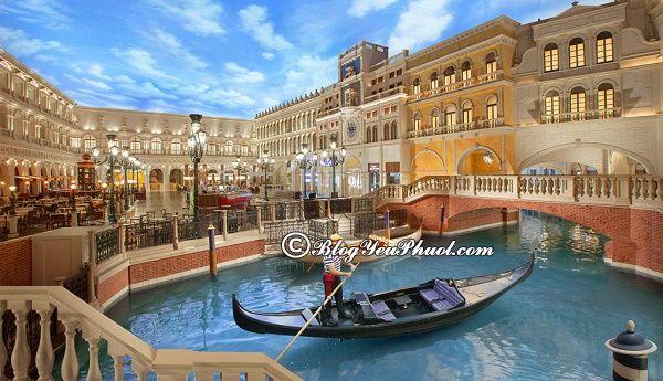 Venetian Macao - thành phố Macao thu nhỏ