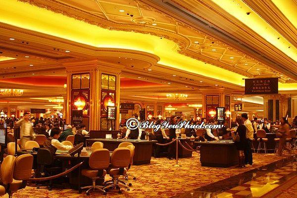Du lịch Macao tham quan sòng bạc