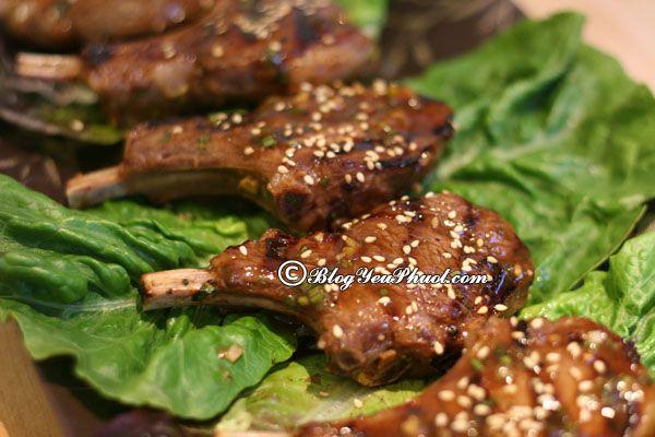 Tư vấn lịch trình tham quan, vui chơi, ăn uống khi đi du lịch Mông Cổ: Món ăn ngon, ẩm thực Mông Cổ
