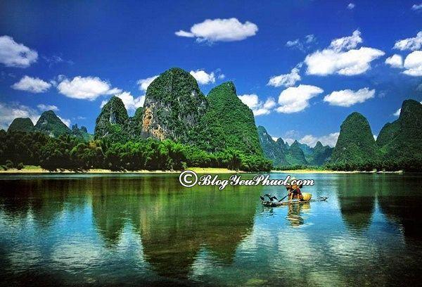 Đi du lịch Nam Ninh tham quan dòng sông Ung Giang