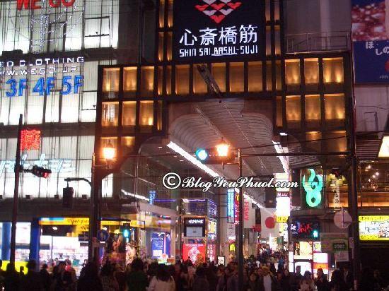 Mua sắm ở đâu khi du lịch Osaka? - Khu thương mại sầm uất Shinsaibashi nổi tiếng ở Osaka