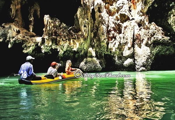 Chơi gì, đến đâu khi đi du lịch Phuket? Đến Phuket khám phá Phang Nga Bay