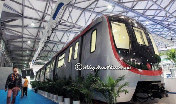 Đi lại ở Quảng Châu bằng tàu điện ngầm