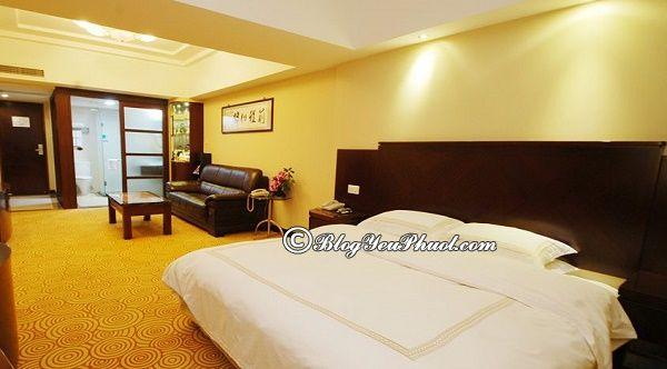 Du lịch Quảng Châu nên ở khách sạn nào?