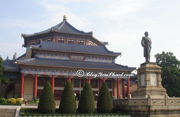 Điểm tham quan nổi tiếng ở Quảng Châu