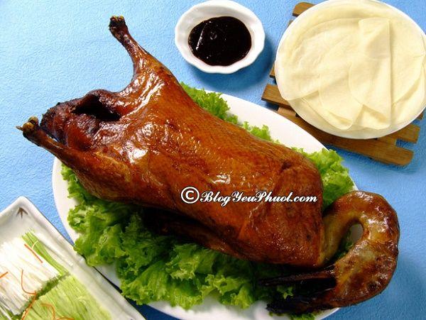Món ăn ngon, đặc sản Quảng Châu
