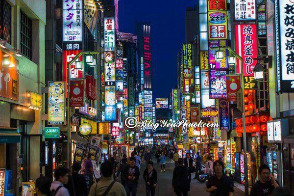Mua sắm ở đâu khi đến Tokyo? Tour du lịch Tokyo giá rẻ
