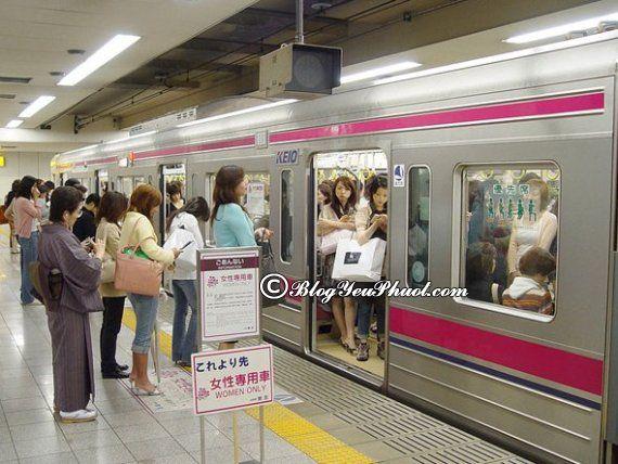 Du lịch Tokyo bằng tàu điện ngầm giúp tiết kiệm chi phí: Phương tiện đi du lịch Tokyo rẻ nhất