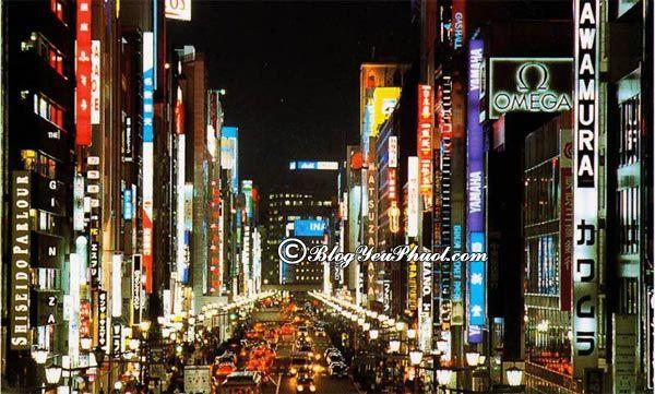 Đến du lịch Tokyo mua gì, mua ở đâu? - Trung tâm mua sắm Ginza - địa điểm mua sắm nổi tiếng ở Tokyo
