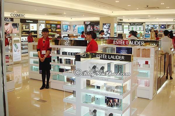 Địa điểm mua sắm nổi tiếng ở Busan - Trung tâm mua sắm Lotte Duty, tour du lịch Busan giá rẻ