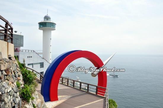 Hướng dẫn, kinh nghiệm du lịch Busan, Hàn Quốc: Địa điểm tham quan du lịch nổi tiếng ở Busan- Công viênTaejongdae