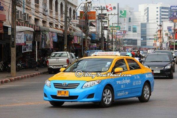 Đi bằng taxi đến Pattaya - Hướng dẫn du lịch Pattaya giá rẻ, tự túc