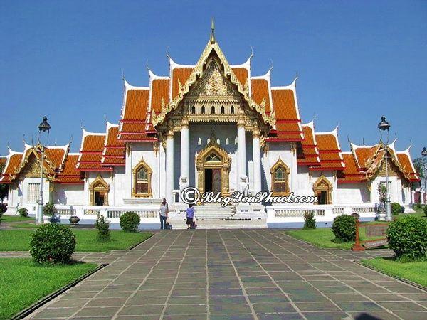 Nên đi đâu khi du lịch Pattaya? Chùa Wat Benchamabophit Dusitvanaram, địa điểm tham quan, vui chơi, ngắm cảnh, chụp ảnh đẹp ở Pattaya