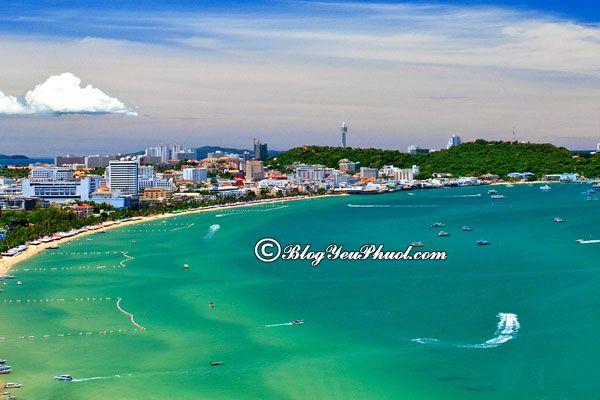 Du lịch Pattaya ngắm biển Jomtien, tư vấn lịch trình tham quan Pattaya giá rẻ
