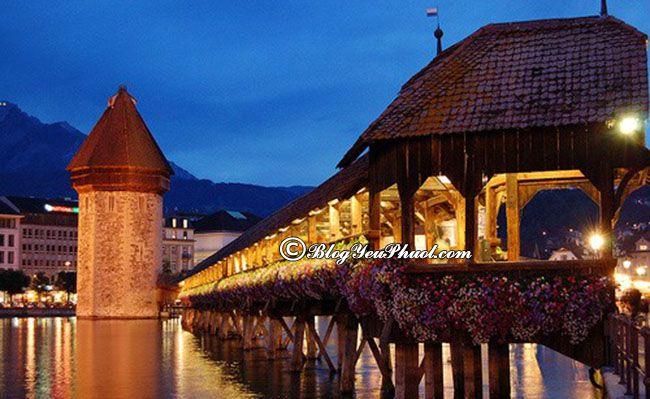 Kinh nghiệm du lịch Thụy Sĩ giá rẻ: Hướng dẫn đi tham quan, vui chơi ở Thụy Sỹ