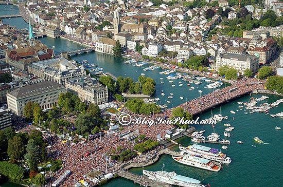 Chơi đâu khi đi du lịch Thụy Sỹ? Tham quan thành phố Zurich, tư vấn lịch trình tham quan Thụy Sĩ tự túc, giá rẻ
