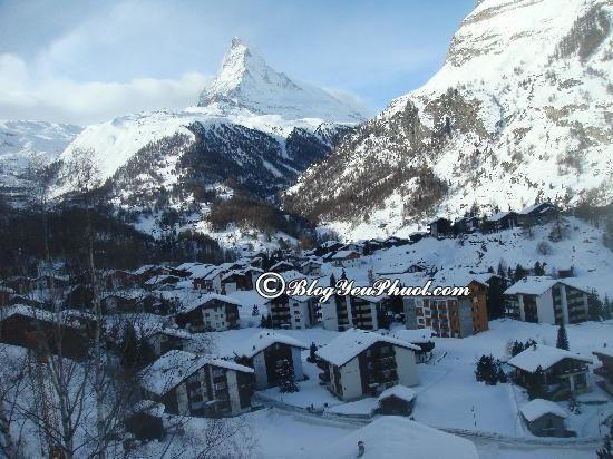 Tour du lịch Thụy Sĩ giá rẻ: Điểm du lịch Thụy Sĩ lý tưởng không thể thiếu thị trấn Zermatt