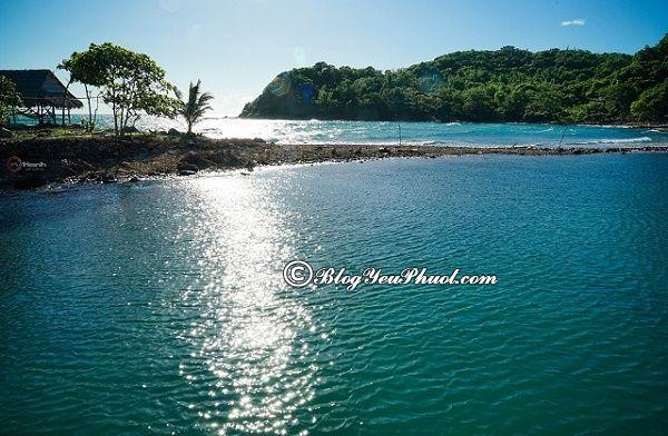 Điểm tham quan ở quần đảo Bà Lụa: Hướng dẫn đi du lịch quần đảo Bà Lụa tự túc, giá rẻ
