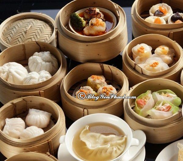 Món ăn hấp dẫn Hồng Kông - Dimsum truyền thống