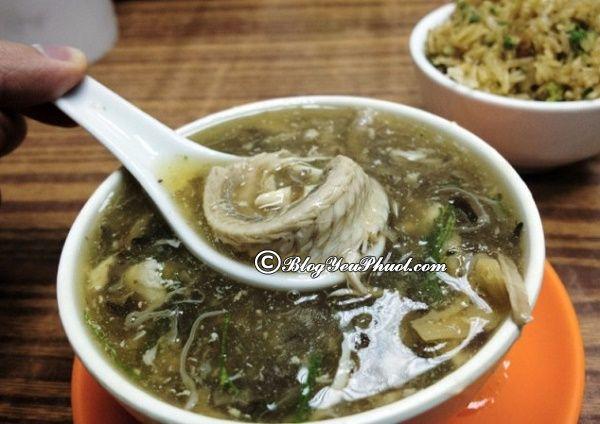 Thưởng thức súp rắn ngon chuẩn ở Hồng Kông