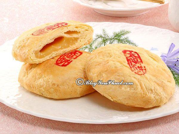 Ẩm thực Đài Loan nức tiếng - bánh thái dương