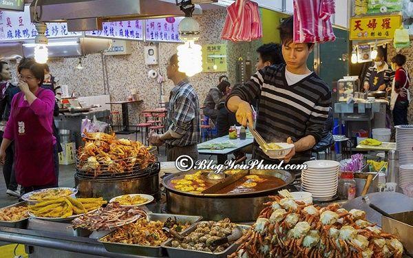Những món ăn ngon đường phố Đài Loan