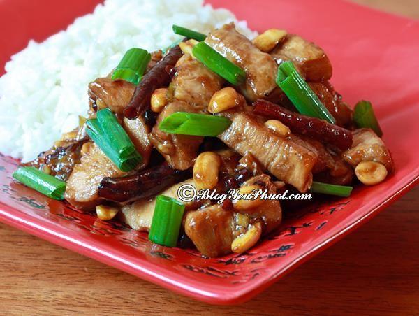 Món ăn hấp dẫn ở Quảng Châu