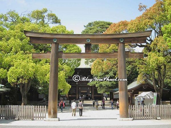 Các địa điểm tham quan ở Nhật Bản đẹp, độc đáo: Danh lam thắng cảnh nổi tiếng ở Nhật Bản