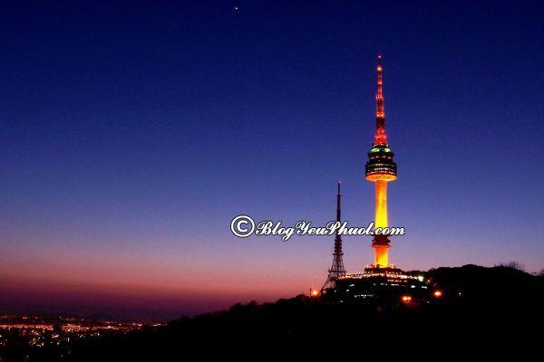 Kinh nghiệm chọn địa điểm tham quan khi du lịch Hàn Quốc: Nơi ngắm cảnh, chụp ảnh đẹp ở Hàn Quốc nên tới tham quan