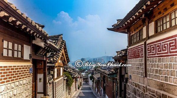 Các địa điểm du lịch Hàn Quốc nổi tiếng: Nơi tham quan du lịch độc đáo, giá rẻ ở Hàn Quốc
