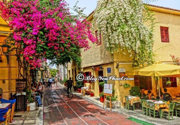 Chơi ở đâu khi du lịch Hy Lạp? Kinh nghiệm, tư vấn lịch trình tham quan, khám phá Athens, Hy Lạp