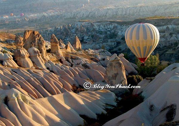 Du lịch Cappadocia nên đi tham quan, vui chơi, ngắm cảnh, chụp ảnh ở đâu đẹp? Tour du lịch Cappadocia giá rẻ