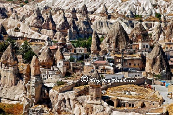Kinh nghiệm du lịch Cappadocia tự túc: Tư vấn lịch trình tham quan, ăn uống khi du lịch Cappadocia