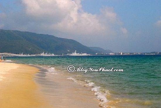 Đến đâu khi du lịch đảo Hải Nam?- Vịnh Á Long, địa điểm du lịch nổi tiếng ở đảo Hải Nam