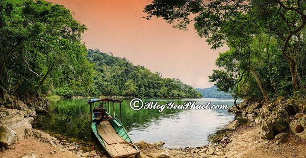 Kinh nghiệm du lịch hồ Ba Bể tự túc, giá rẻ: Du lịch Hồ Ba Bể đi đâu chơi, ăn uống?