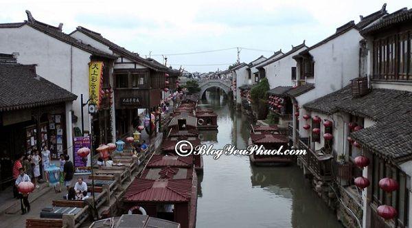 Du lịch Tô Châu nên đi đâu chơi? Địa điểm tham quan, vui chơi nổi tiếng ở Tô Châu