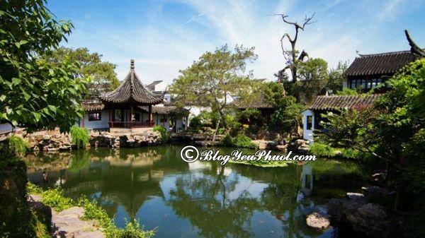 Nên đi đâu chơi khi du lịch Tô Châu? Danh lam thắng cảnh nổi tiếng ở Tô Châu